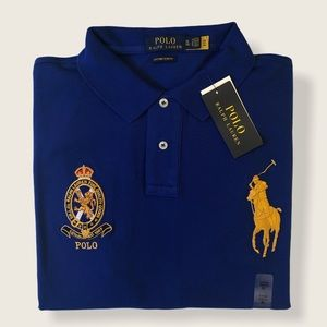 POLO RALPH LAUREN / CUSTOM FIT (XL)